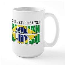 Eat Sleep Brazilian Jiu Jitsu Mug