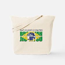 Eat Sleep Brazilian Jiu Jitsu Tote Bag