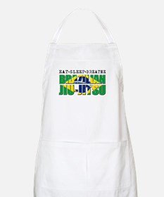 Eat Sleep Brazilian Jiu Jitsu Apron