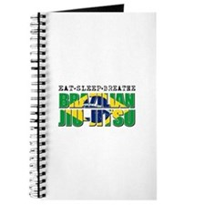 Eat Sleep Brazilian Jiu Jitsu Journal