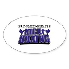 Eat Sleep Kickboxing Decal