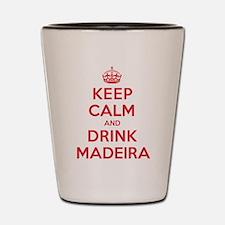 K C Drink Madeira Shot Glass