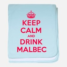 K C Drink Malbec baby blanket