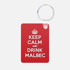 K C Drink Malbec Keychains