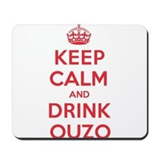 K C Drink Ouzo Mousepad