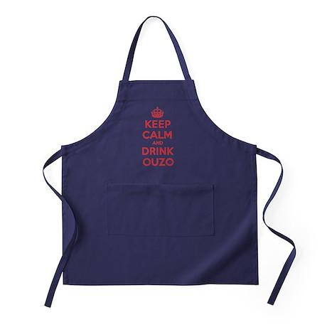 K C Drink Ouzo Apron (dark)