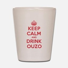 K C Drink Ouzo Shot Glass