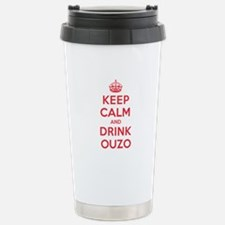 K C Drink Ouzo Travel Mug