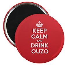 "K C Drink Ouzo 2.25"" Magnet (100 pack)"