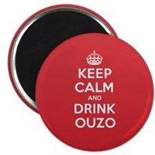 K C Drink Ouzo Magnet