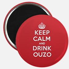 K C Drink Ouzo Magnet