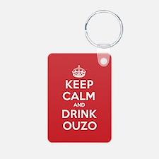 K C Drink Ouzo Keychains