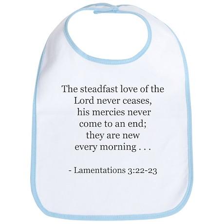 Lamentations 3:22-23 Bib