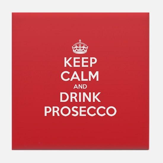 K C Drink Prosecco Tile Coaster