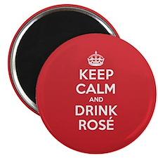 K C Drink Rosé Magnet