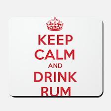K C Drink Rum Mousepad