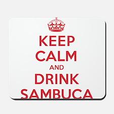 K C Drink Sambuca Mousepad