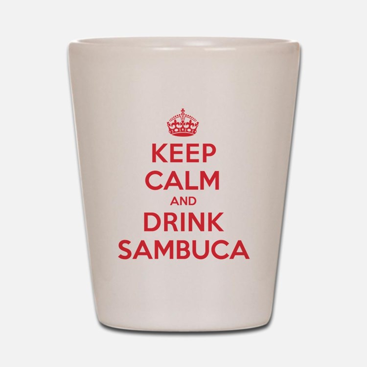 K C Drink Sambuca Shot Glass