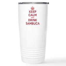 K C Drink Sambuca Travel Mug