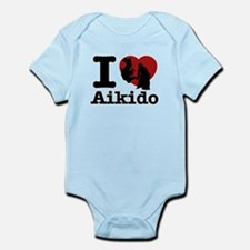 Aikido Heart Designs Infant Bodysuit