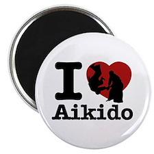 Aikido Heart Designs Magnet