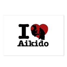 Aikido Heart Designs Postcards (Package of 8)