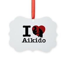 Aikido Heart Designs Ornament