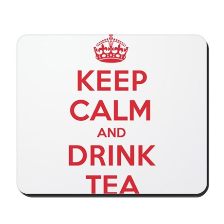 K C Drink Tea Mousepad