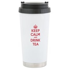 K C Drink Tea Travel Mug