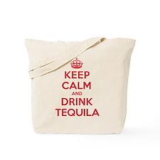 K C Drink Tequila Tote Bag