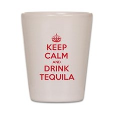 K C Drink Tequila Shot Glass
