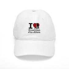 Brazilian Jiu Jitsu Heart Designs Baseball Cap