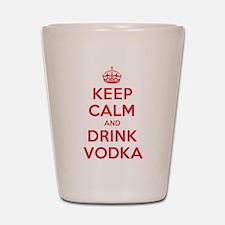 K C Drink Vodka Shot Glass