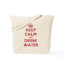 K C Drink Water Tote Bag