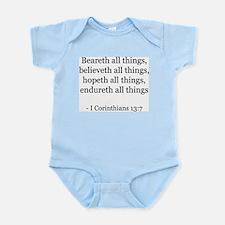 I Corinthians 13:7 Infant Creeper