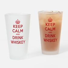 K C Drink Whiskey Drinking Glass
