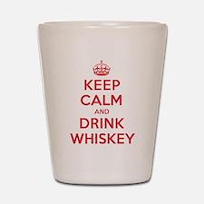 K C Drink Whiskey Shot Glass
