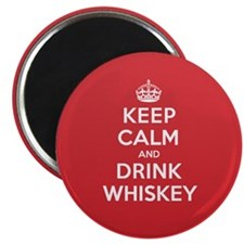 K C Drink Whiskey Magnet