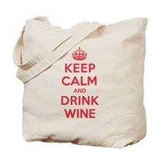 K C Drink Wine Tote Bag