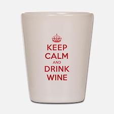 K C Drink Wine Shot Glass