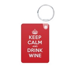 K C Drink Wine Keychains