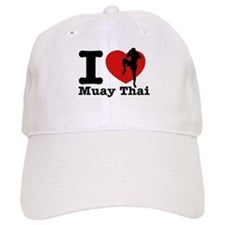 Muay Thai Heart Designs Baseball Cap