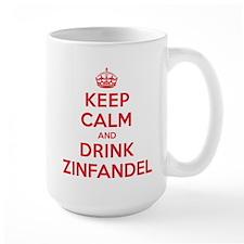 K C Drink Zinfandel Mug