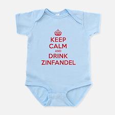 K C Drink Zinfandel Infant Bodysuit