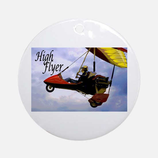 High Flyer Ornament (Round)