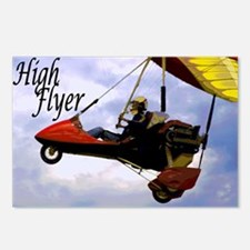 High Flyer Postcards (Package of 8)