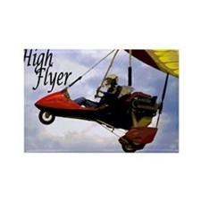 High Flyer Rectangle Magnet