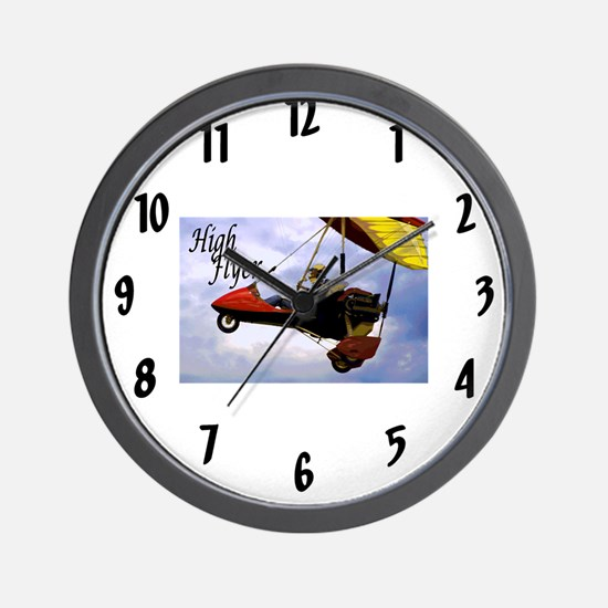 High Flyer Wall Clock