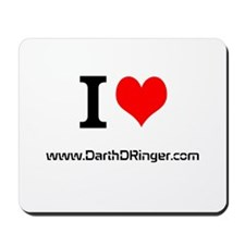 i heart Darth DRinger Mousepad