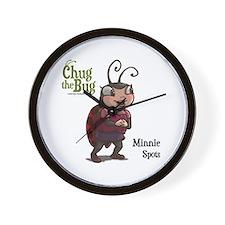 Minnie Spots Wall Clock